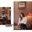 Cherry KOKO เสื้อผ้าไหมชีฟองสีขาว คอจีน แต่งระบายที่ไหล่ thumbnail 12
