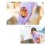Tokyo Fashion เสื้อคอกลม สีม่วงอ่อน พิมพ์ลายสิงโต แต่งหมุดที่ไหล่ เก๋ๆ thumbnail 5