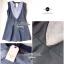Lady Ribbon Mini Dress มินิเดรสแขนกุด สีทูโทน thumbnail 10