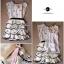 Snidel Layer Dress เดรสชีฟองแขนล้ำ ปักดอกไม้ เล่นระบายชายชั้นๆ thumbnail 12