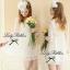 Lady Ribbon Lace Dress เดรสชีฟองแขนยาว ชายระบายลูกไม้ thumbnail 4