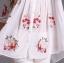 Ice Vanilla เสื้อเชิ้ตตัวยาว สีขาว ปักลายดอกไม้สีสดใส thumbnail 9
