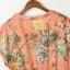ZARA เดรส ผ้าชีฟองพิมพ์ลายดอก สีสด thumbnail 8