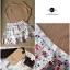 Lady Ribbon Floral Knit Ballerina Set เสื้อพร้อมกระโปรงตัดต่อผ้าแก้ว thumbnail 8