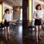 GOD is Girl เสื้อผ้าลูกไม้สีขาว แต่งกระดุมเพชร thumbnail 4