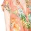 ZARA เดรส ผ้าชีฟองพิมพ์ลายดอก สีสด thumbnail 6