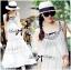 Lady Ribbon Bohemien Maxi Dress เดรสยาวผ้าชีฟองปักลาย thumbnail 4