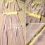 Lady Ribbon แม็กซี่เดรส ทูโทน ระบายช่วงอก สม็อคเอว thumbnail 11