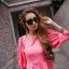 Pretty in Pink Top เสื้อแต่งระบายที่ชายเสื้อ สีชมพู thumbnail 3
