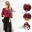 Sevy Long Sleeved Red Wine Shirt With Harlem Pants thumbnail 4