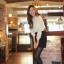 Cherry KOKO เสื้อผ้าไหมชีฟองสีขาว คอจีน แต่งระบายที่ไหล่ thumbnail 3