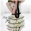 Snidel Layer Dress เดรสชีฟองแขนล้ำ ปักดอกไม้ เล่นระบายชายชั้นๆ thumbnail 9