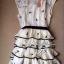 Snidel Layer Dress เดรสชีฟองแขนล้ำ ปักดอกไม้ เล่นระบายชายชั้นๆ thumbnail 11