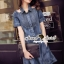 Seoul Secret Carroll Curve Shoulder Dimond Dress thumbnail 8