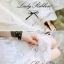 Lady Ribbon Lace Embroidery Dress เดรสลูกไม้ฉลุ ผ้าซีทรู thumbnail 4