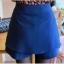 กางเกงกระโปรง ผ้าไหมชีฟองสีน้ำเงิน thumbnail 7