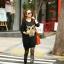 Cute Owl Tops เสื้อตัวยาวสีดำ แต่งเลื่อมรูปนกฮูก thumbnail 7