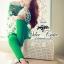 Odee Cutie ชุดเซ็ทเสื้อกับกางเกงขายาว โทนสีเขียว thumbnail 5