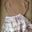 Lady Ribbon Floral Knit Ballerina Set เสื้อพร้อมกระโปรงตัดต่อผ้าแก้ว thumbnail 7