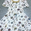 Seoul Secret Colorful Jewel Print Gold Bead Furnish Dress thumbnail 6