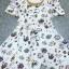 Seoul Secret Colorful Jewel Print Gold Bead Furnish Dress thumbnail 6