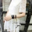 Lady Ribbon Lace Embroidery Dress เดรสลูกไม้ฉลุ ผ้าซีทรู thumbnail 6
