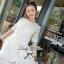 Lady Ribbon Lace Embroidery Dress เดรสลูกไม้ฉลุ ผ้าซีทรู thumbnail 1