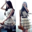 Snidel Layer Dress เดรสชีฟองแขนล้ำ ปักดอกไม้ เล่นระบายชายชั้นๆ thumbnail 8