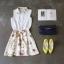 Ice Vanilla Romantic Retro Flower Sleeveless Dress thumbnail 10