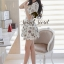Seoul Secret Colorful Jewel Print Gold Bead Furnish Dress thumbnail 4