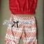 Lady Ribbon Set ชุดเซ็ทเสื้อและกางเกงพิมพ์ลายสีแดงสุดเปรี้ยว thumbnail 8