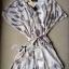 Lady Ribbon Chiffon Dress เดรสผ้าชีฟอง พิมพ์ลายขนนก thumbnail 10