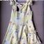 Lady Ribbon มินิเดรสเปิดไหล่ โทนสีเหลือง ลายเดซี่ thumbnail 9