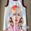 Lady Ribbon เดรสพิมพ์ลายศิลปะสไตล์แบรนด์ Prada thumbnail 6