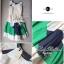 Partysu Vivid Dress เดรสเกาหลีแขนกุดสีครีม กระโปรงทรง A thumbnail 10
