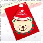 Santa Hat Card - B
