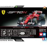 TA20068 Ferrari SF70H 1/20