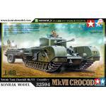 TA32594 British Tank Churchill Mk.VII - Crocodile 1/48