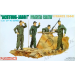 DRA6191 Achtung-Jabo! Panzer crew (France 1944) 1/35