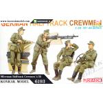 DRA6193 German Halftrack Crewmen 1/35