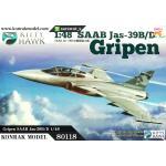 KH80118 Gripen SAAB Jas-39B/D 1/48