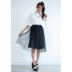 Stripline Net Layered Skirt