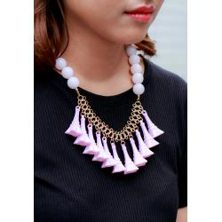 Paris Lover Necklace - Pink