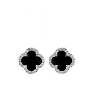 ต่างหู Symmetric Stud Hypoallergenic