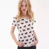 เสื้อยืด Cute Fox Print