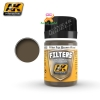 AK262 RED BROWN FILTER (FILTER FOR WOOD)