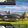 TA89732 P-51D Mustang & U.S. Army Air Froce Staff Car Set 1/48