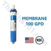 ไส้กรองRO Membrane 100 GPD ยี่ห้อ Filmtec USA