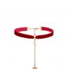 สร้อยโชคเกอ Flannel Moon Clavicle Chain