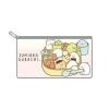 กระเป๋าซิปแบน Sumikko Gurashi สีชมพู (M)